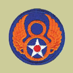 8th Army Air Forces WW2 Patch